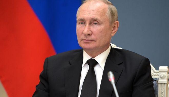 Ο Ρώσος Πρόεδρος, Βλαντιμίρ Πούτιν.