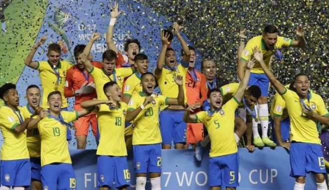 Mουντιάλ Κ17: Παγκόσμια πρωταθλήτρια η Βραζιλία με ανατροπή κόντρα στο Μεξικό