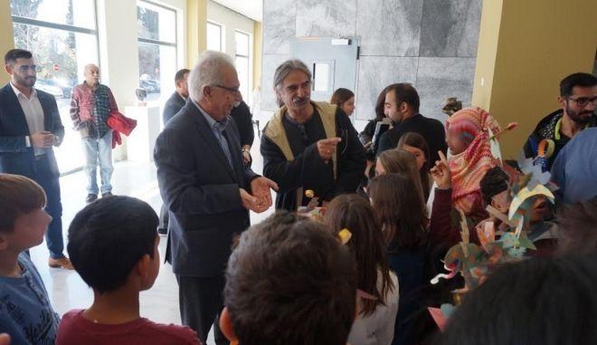 Σύγχρονη γκαλερί τέχνης το υπουργείο Παιδείας εις μνήμη του Γ. Παντή