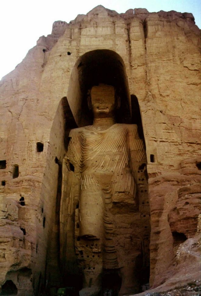 Τα αγάλματα του Βούδα στην κοιλάδα του Μπαμιγιάν στο Αφγανιστάν