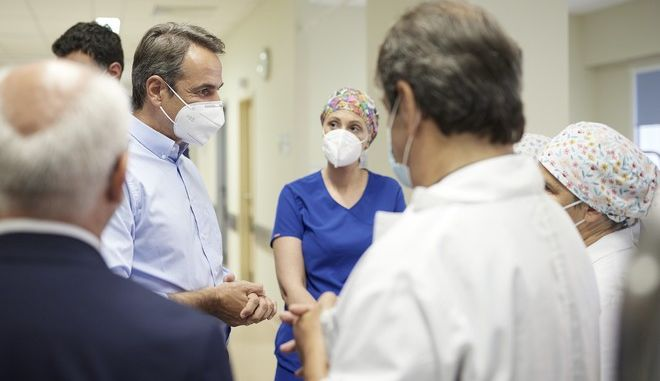 Μητσοτάκης: Είμαστε αντιμέτωποι με 4ο κύμα κορονοϊού - Να εμβολιαστούν οι άνω των 40