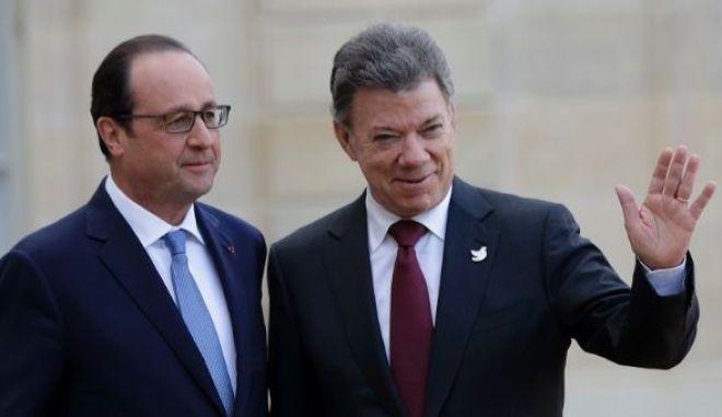 Ο πρόεδρος Ολάντ θέλει εμπορική συμφωνία της Ευρώπης με τη Συμμαχία του Ειρηνικού