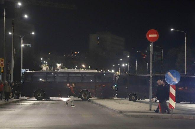 Συλλαλητήριο των οπαδών του ΠΑΟΚ
