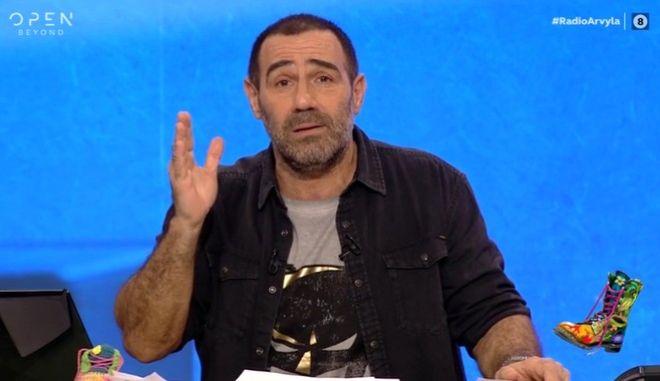 """Ο Αντώνης Κανάκης στο """"Ράδιο Αρβύλα"""""""