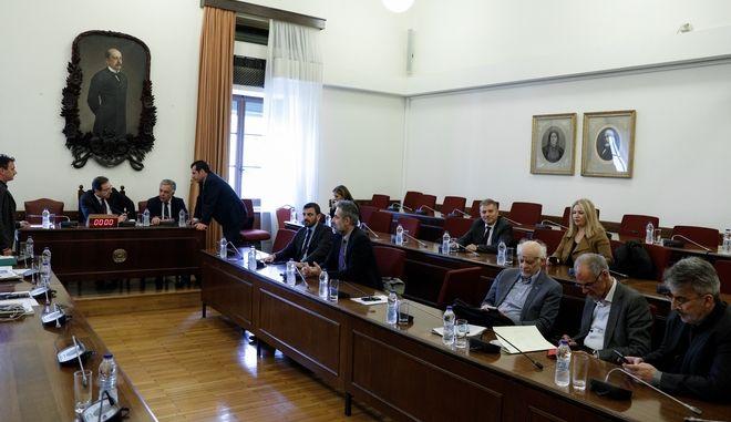 Η Ειδική Κοινοβουλευτική Επιτροπή προς διενέργεια προκαταρκτικής εξέτασης σχετικά με τη διερεύνηση αδικημάτων που τυχόν έχουν τελεσθεί από τον πρώην Αναπληρωτή Υπουργό Δικαιοσύνης κ. Δημήτριο Παπαγγελόπουλο