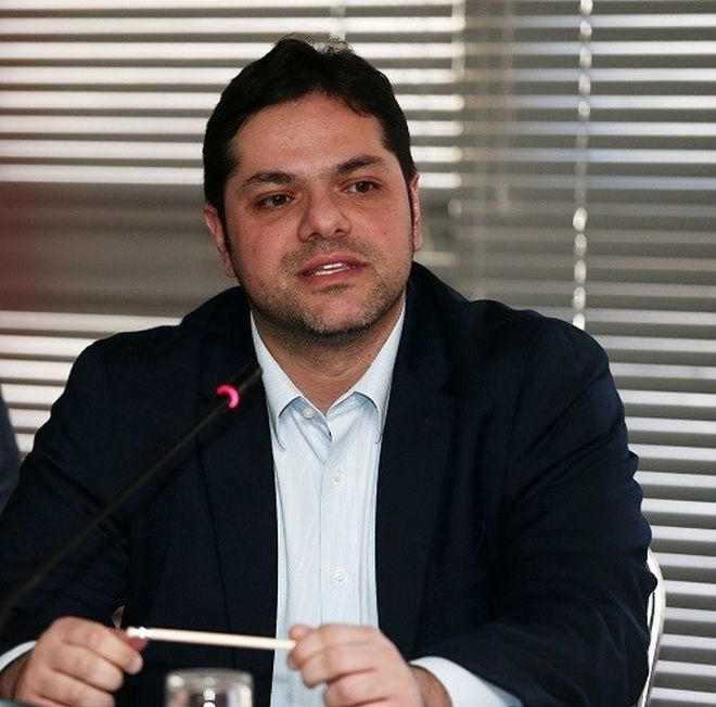 Ο Δημήτρης Παπαγγελόπουλος.