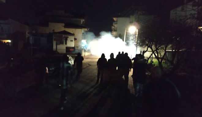 Ακόμη εννέα συλλήψεις για τα επεισόδια κοντά στο σπίτι της Σκούφα στην Κατερίνη