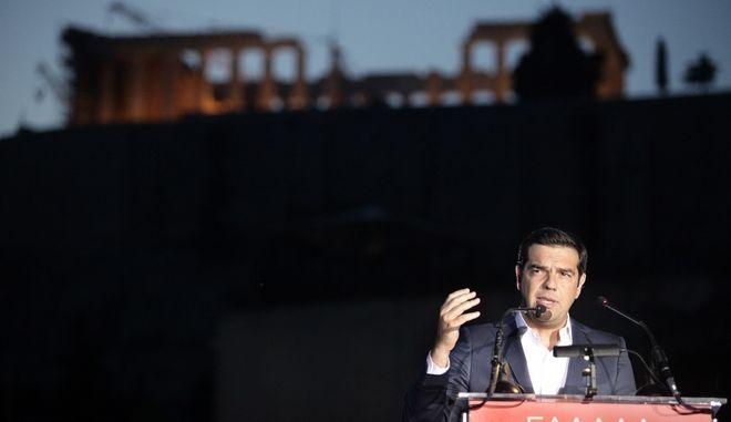 ΑΘΗΝΑ-Ομιλία του πρωθυπουργού Αλέξη Τσίπρα στο Μουσείο της Ακρόπολης.(EUROKINISSI-ΠΑΝΑΓΟΠΟΥΛΟΣ ΓΙΑΝΝΗΣ)