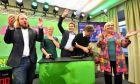 Στελέχη των Πράσινων στη Βαυαρία πανηγυρίζουν την εκλογική επιτυχία τους