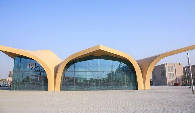 """Ο άθλος της ΑΚΤΩΡ στο Κατάρ: Η """"Χρυσή Γραμμή"""" του μετρό της Ντόχα"""