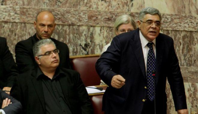 Συζήτηση στην Ολομέλεια της Βουλής για το δημοψήφισμα το Σάββατο 27 Ιουνίου 2015. (EUROKINISSI/ΓΙΑΝΝΗΣ ΠΑΝΑΓΟΠΟΥΛΟΣ)