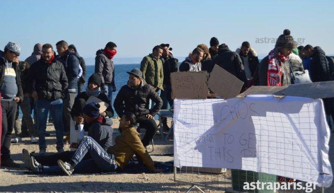 Χίος: Χωρίς ρεύμα παραμένει ο καταυλισμός της Σούδας