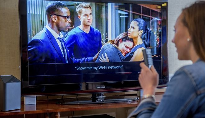 IMAGE DISTRIBUTED FOR COMCAST - On Monday, May 8, 2017, Comcast launched Xfinity xFi, a new and personalized Wi-Fi experience that provides a simple digital dashboard for customers to manage heir home Wi-Fi network. xFi can be accessed by applications that span iOS, Android, Web and television, via Xfinity X1 and the X1 voice remote. (Jeff Fusco/AP Images for Comcast)
