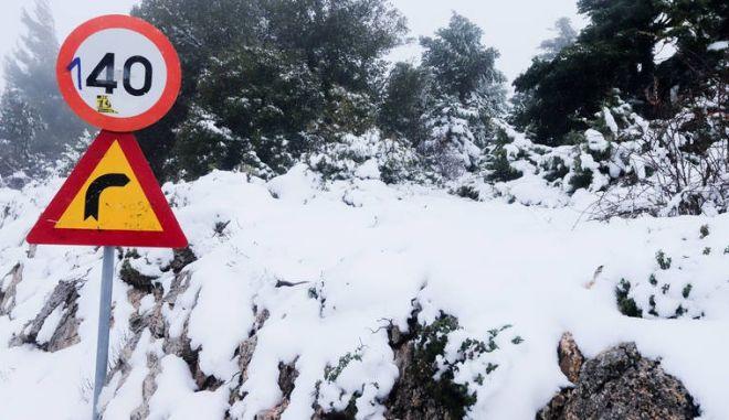 Θρήνος στην Ευρυτανία: 55χρονη πέθανε στα χιόνια, λίγο μετά την αλλαγή του χρόνου