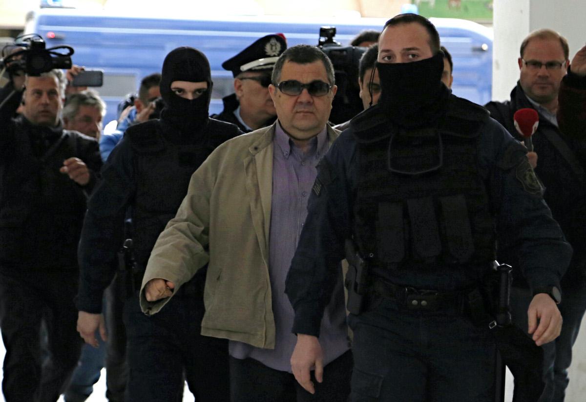 Αποφυλάκιση του Γιώργου Ρουπακιά από τις φυλακές Κορυδαλλού την Παρασκευή 18 Μαρτίου 2016. Με το υπ΄αριθμόν 260/2016 βούλευμα του Συμβουλίου Εφετών της Αθήνας αποφασίστηκε η αποφυλάκιση του με αυστηρούς περιοριστικούς όρους.