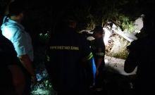 Πτώση αεροσκάφους στη Λάρισα: Εικόνες σοκ από τον τόπο του δυστυχήματος