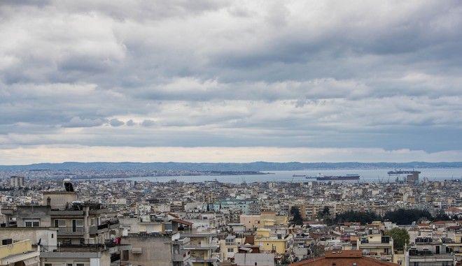 Συννεφιά στη Θεσσαλονίκη