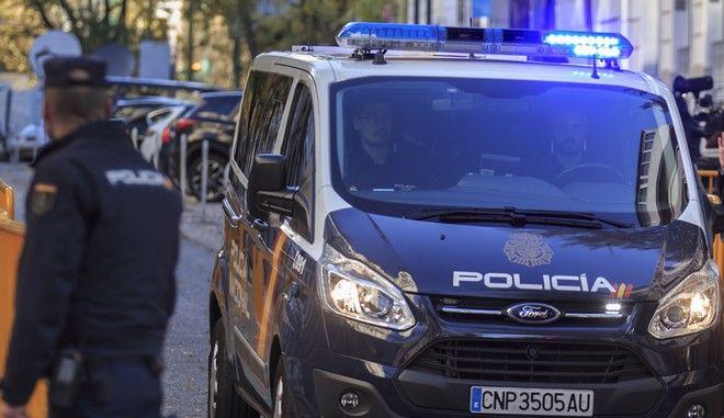 Περιπολικό της αστυνομίας της Ισπανίας
