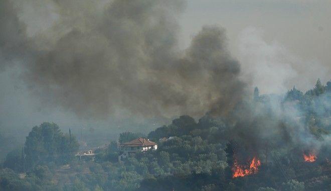Πυρκαγιές: Μάχη με τον χρόνο στην Πάρνηθα - Ανεξέλεγκτη η φωτιά στην Εύβοια - Αναζωπυρώσεις στην Ηλεία