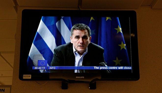 Φωτογραφία αρχείου- Ο υπουργός Οικονομικών, Ευκλείδης Τσακαλώτος