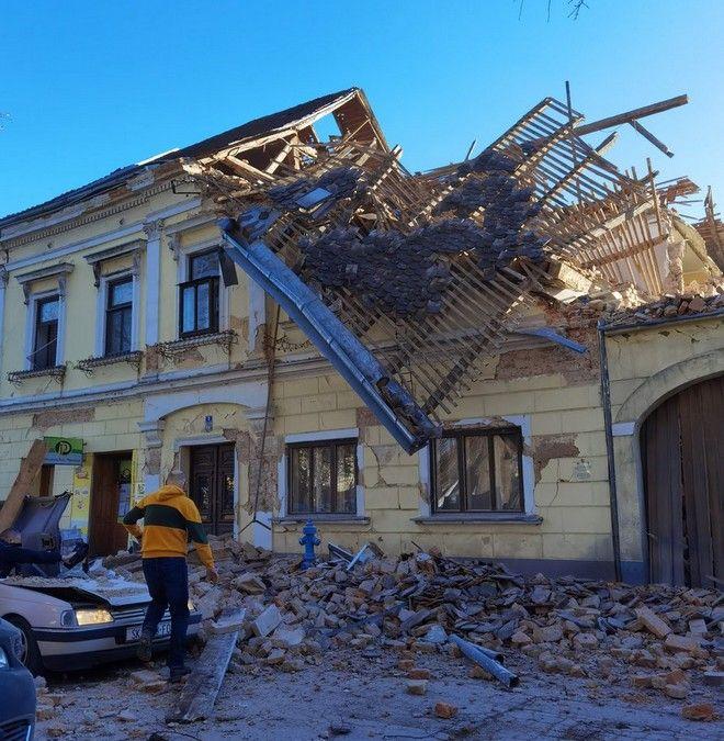 Ισχυρός σεισμός στην Κροατία