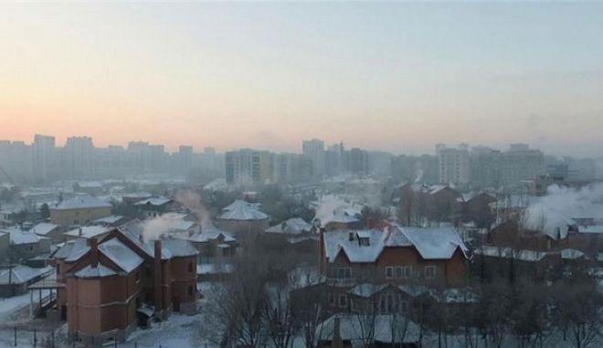 Καζακστάν: Στους -34 βαθμούς Κελσίου το θερμόμετρο