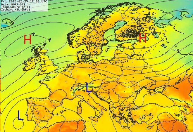 Νέο κύμα ζέστης στις σκανδιναβικές χώρες