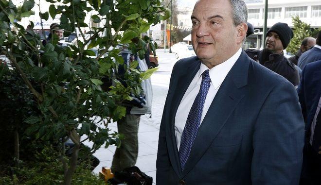 O πρώην πρωθυπουργός, Κώστας Καραμανλής