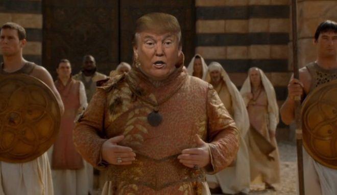 Βίντεο: Όταν ο Ντόναλτν Τραμπ 'μπήκε' στο Game of Thrones