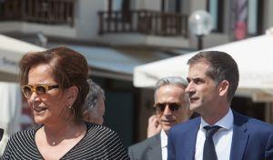 Η Ντόρα Μπακογιάννη και ο γιος της Κώστας