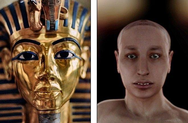 Φωτογραφίες: Δείτε πώς ήταν ο Φαραώ Τουταγχαμών. Αποκαλύφθηκε για πρώτη φορά το πρόσωπο του