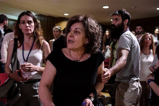 Δίκη Χρυσής Αυγής, στην αίθουσα του Εφετείου Αθηνών, την Δευτέρα 24 Ιουνίου 2019.