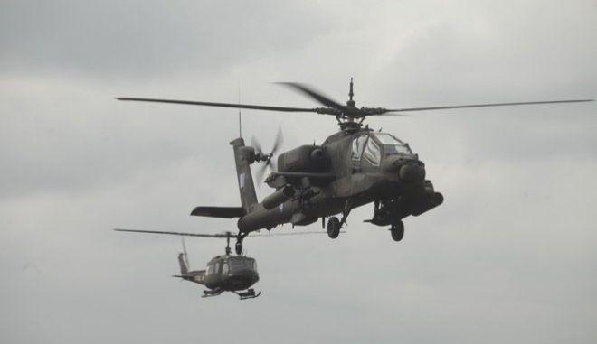 Στρατιωτική άσκηση «Παρμενίων 2015» παρουσία του πρωθυπουργού Αλέξη Τσίπρα και του υπ. Άμυνας Πάνου Καμμένου, Παρασκευή 9 Οκτωβρίου 2015. (EUROKINISSI/ΓΙΩΡΓΟΣ ΚΟΝΤΑΡΙΝΗΣ)