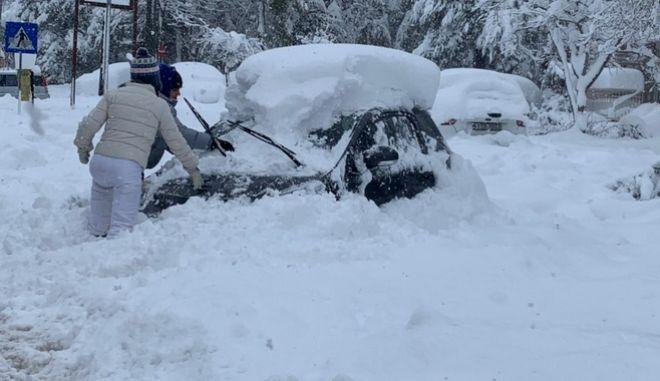 ΕΜΥ: Ένας από τους χειρότερους χιονιάδες των τελευταίων ετών