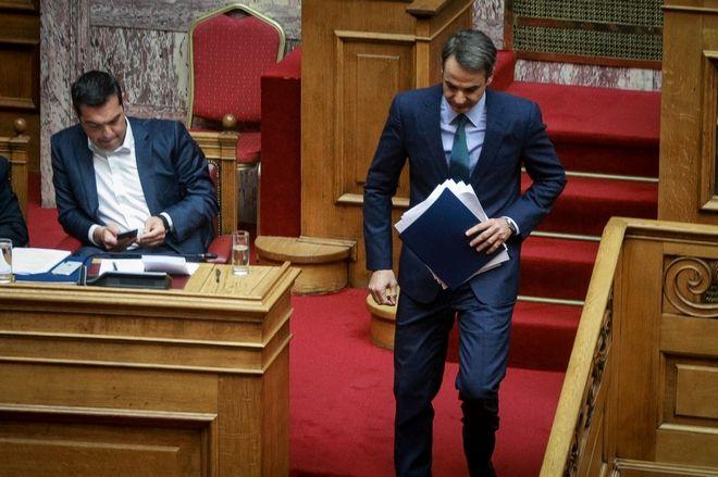 Συζήτηση και λήψη απόφασης επί των προτάσεων για αναθεώρηση διατάξεων του Συντάγματος, σύμφωνα με τα άρθρα 110 του Συντάγματος και 119 του Κανονισμού της Βουλής (δεύτερη ψηφοφορία), την Πέμπτη 14 Μαρτίου 2019. (EUROKINISSI/ΓΙΩΡΓΟΣ ΚΟΝΤΑΡΙΝΗΣ)