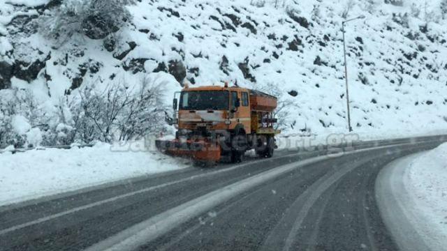 Κακοκαιρία: Πλημμύρες και κατολισθήσεις στην Κρήτη - Στους 50 πόντους το χιόνι στα Τρίκαλα