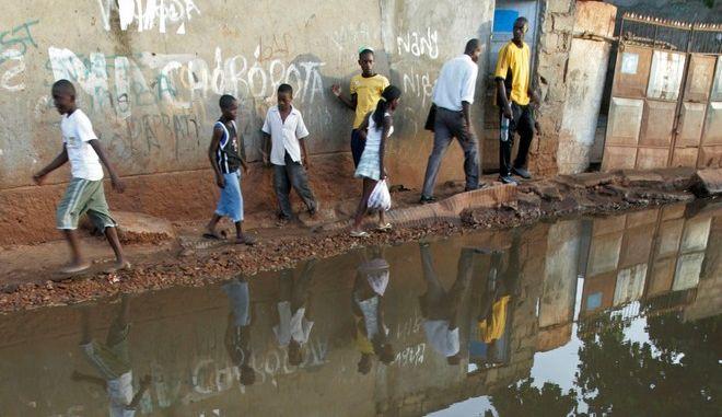Πλημμυρισμένη περιοχή στην Ανγκόλα