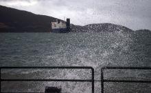 Ισχυροί άνεμοι στο παλαιό λιμάνι της Ηγουμενίτσας