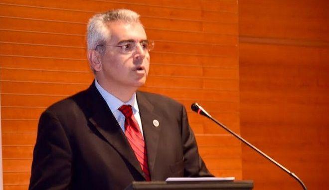 Ο Μ. Χαρακόπουλος (Φωτογραφία αρχείου)