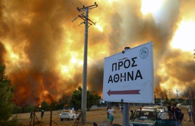 Θα καεί η Πάρνηθα - Προς Κατσιμίδι και Εθνική Οδό τα μέτωπα - Κόλαση σε Εύβοια και Ηλεία