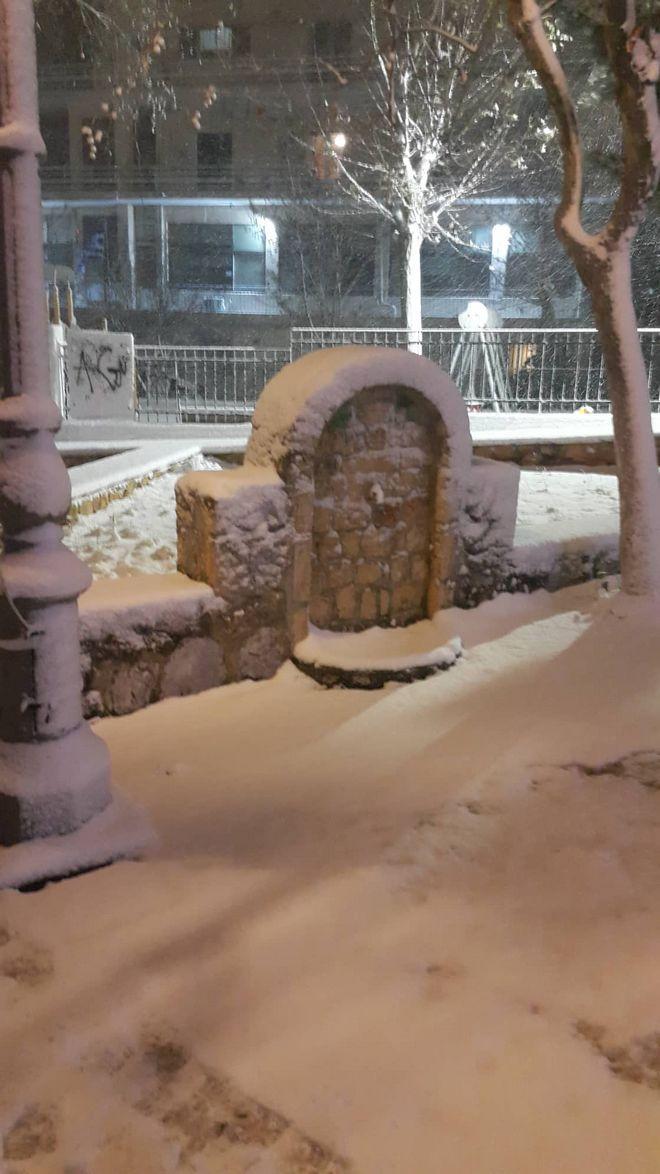 Χιόνια στο Κρυονέρι