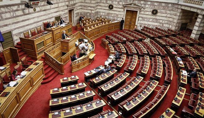 """Συζήτηση και ψήφιση επί της αρχής, των άρθρων και του συνόλου του σχεδίου νόμου του Υπουργείου Οικονομικών """"Ενσωμάτωση στην ελληνική νομοθεσία της Οδηγίας 2015/2366/ΕΕ για τις υπηρεσίες πληρωμών και άλλες διατάξεις"""""""