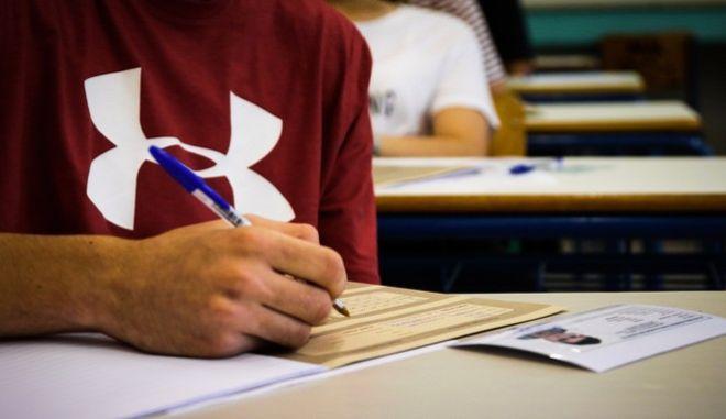 Στιγμιότυπο πανελλαδικών εξετάσεων