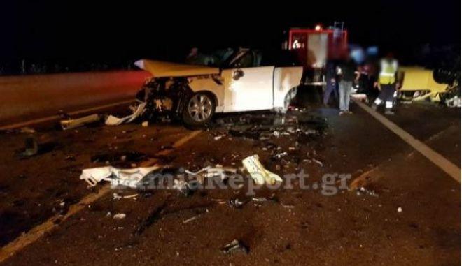 Τροχαίο-σοκ στη Λαμία: Νεκρή 52χρονη που οδηγούσε ανάποδα στην εθνική