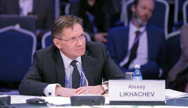 Ο επικεφαλής της εταιρείας Rosatom, Αλεξέι Λιχατσόφ
