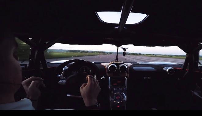 Ρεκόρ για Γκίνες. Η Koenigsegg One:1 «χτυπάει» 300 χλμ./ώρα σε 17,95''!