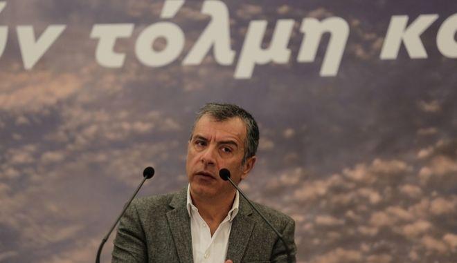 Ο επικεφαλής του Ποταμιού Σταύρος Θεοδωράκης
