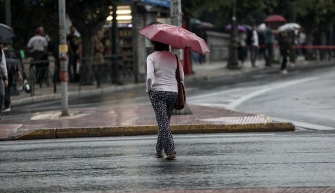 Βροχή στην Αθήνα