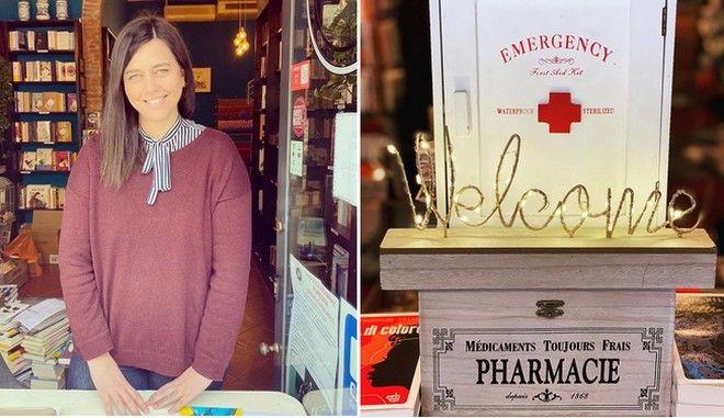 """Μπήκαμε στο πρώτο """"φαρμακείο λογοτεχνίας"""" του πλανήτη"""
