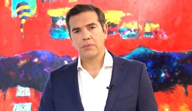 Ο Αλέξης Τσίπρας κάλεσε τον Κυριάκο Μητσοτάκη να σταματήσει να επενδύει στον διχασμό